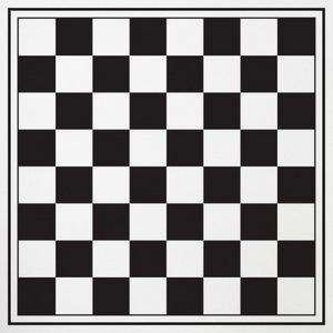 Oversized Checkers w/Mat & Carrying Case